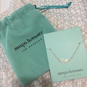 Maya Brenner Gold LOVE Bracelet